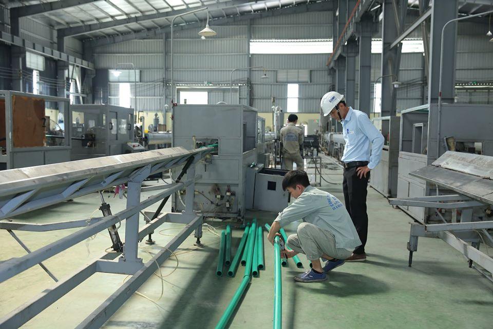 Quy trình sản xuất ống nhựa Dismy